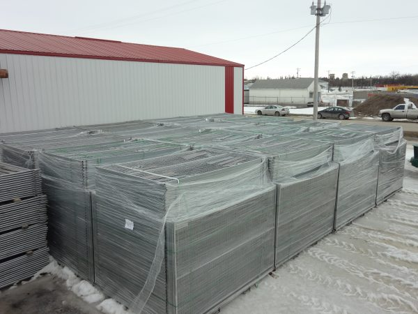inventory of temporary 8ft fence panels