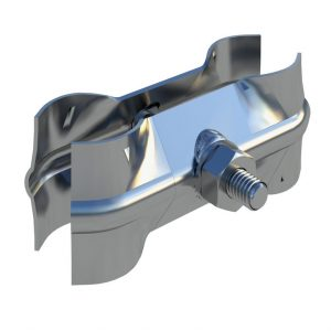 Broadfence Anticlimb Panel - Coupler