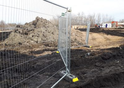 AntiClimb Standard Fence on Construction Site