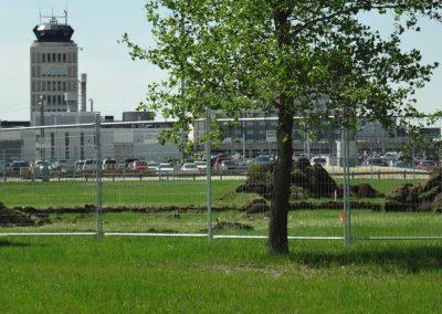 Manitoba fence rental around jobsite