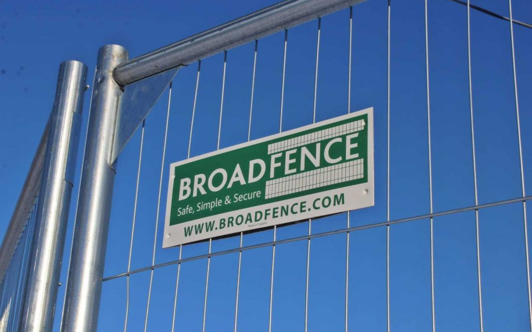 4 Reasons Why Businesses are buying temporary fencing
