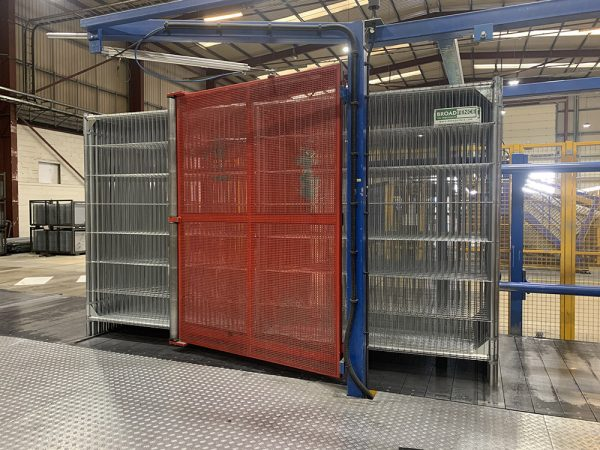 Broadfence Premium rolling off the production line