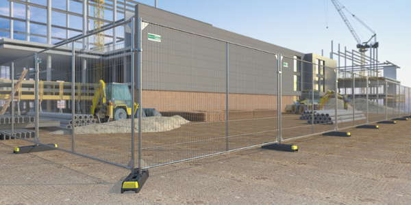 Broadfence's Anticlimb Temporary Fence Panels