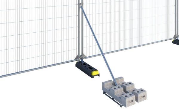 Windbreak Fence Stabilizer