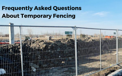 Frequently Asked Questions About Temporary Fence